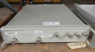 HP 85046A S-Parameter Test Set 300kHz - 3.0GHz (No Power Cable)
