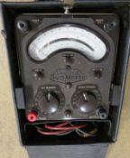 AvoMeter Multimeter & Case (Damage to Case)