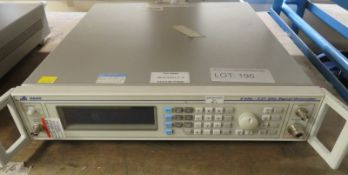 IFR 2025 9kHz - 2.51GHz Signal Generator (Back Support Broken & No Power Cable)