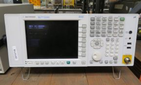 Agilent N9010A EXA Signal Analyzer 9kHz - 26.5GHz (No Power Cable)