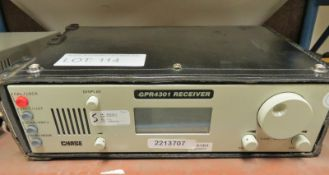 Chase GPR4301 Receiver in Carry Case