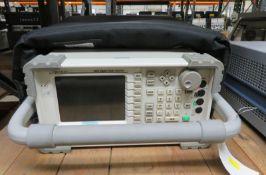 Aeroflex 3920 Digital Radio Test Set in Padded Carry Bag