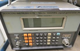 Marconi Instruments 2022 Signal Generator 10kHz - 1000MHz (No Power Cable)