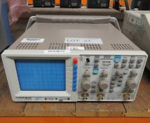 Hameg Instruments HM1008 Analog Digital Oscilloscope 1 GSa - 1MB 100MHz (No Power Cable)