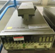 HP 8112A Pulse Generator 50MHz (No Power Cable)