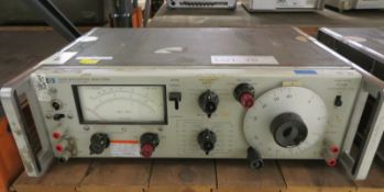 HP 334A Distortion Analyzer 13 V-A - (Missing Foot & No Power Cable)