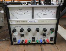 Farnell Instruments LT30-2 Stablised Power Supply 2 x 0-30v 2A