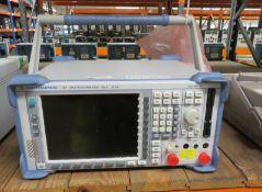Rohde & Schwarz FSP Spectrum Analyzer 9kHz - 30GHz (No Power Cable)