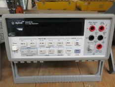 Agilent 34401A 6 1/2 Digit Multimeter (No Power Cable)