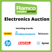 Ramco Electronics Auction - Brands Include - Marconi, Farnell, Fluke, Rohde & Schwarz, RACAL, Hewlett Packard, Tektronix, Agilent