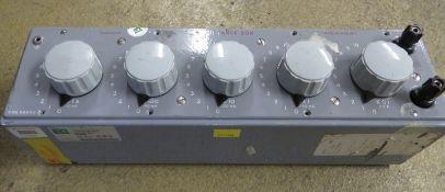 Cropico RBB5C Resistance Box