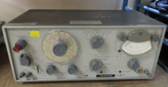 Marconi Instruments TF 2331A Distortion Factor Meter (Bent Ref Level Knob) - NSN 6625-9905