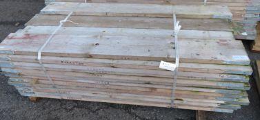 50x 6ft Wooden Scaffolding Board.