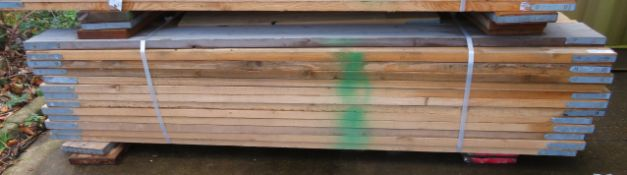 50x Wooden Scaffolding Boards 2.3 -2.4m . Please Note There Is A £10 Loading Charge On The