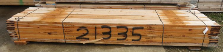 44x 13ft Wooden Scaffolding Board. Please Note There Is A £10 Loading Charge On This Lot.