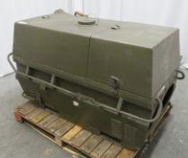 Dantherm 38kw Portable Diesel Fuel Heater VA-M40 - Hours Run - 249 - Untested.