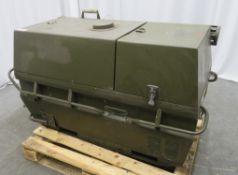 Dantherm 38kw Portable Diesel Fuel Heater VA-M40 - Hours Run - 110 - Untested.