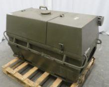 Dantherm 38kw Portable Diesel Fuel Heater VA-M40 - Hours Run - 1165 - Untested.