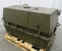 Dantherm 38kw Portable Diesel Fuel Heater VA-M40 - Hours Run - 319 - Untested.