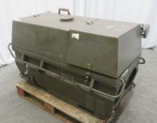 Dantherm 38kw Portable Diesel Fuel Heater VA-M40 - Hours Run - 2050 - Untested.