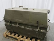 Dantherm 38kw Portable Diesel Fuel Heater VA-M40 - Hours Run - 2286 - Untested.