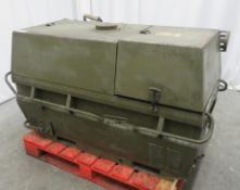Dantherm 38kw Portable Diesel Fuel Heater VA-M40 - Hours Run - 202 - Untested.