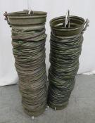 2x Dantherm VA-M 40 Flexible Ducting. Length Approx 3m.