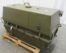 Dantherm 38kw Portable Diesel Fuel Heater VA-M40 - Hours Run - 105 - Untested.