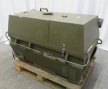 Dantherm 38kw Portable Diesel Fuel Heater VA-M40 - Hours Run - 898 - Untested.