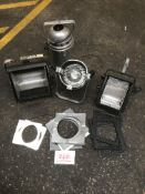 Box of Theatre lighting spares and repairs