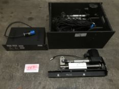 Pair of angle control actuators and controller