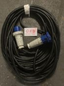 63A cable 30m