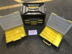 Parts storage trays and carrier