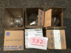 6x PAR56 spare lamp