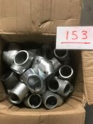 Box of 26 Key Clamp adjustable short T fittings NEW