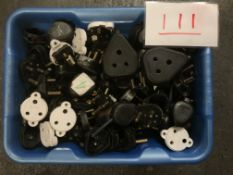 Box of 15A plugs and sockets, some 5A
