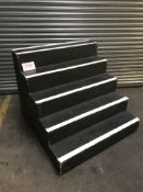 1m high staging treads