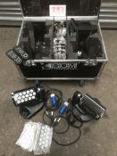 3x SGM Genio Mobile in 4 way case (8 & 25 lenses)