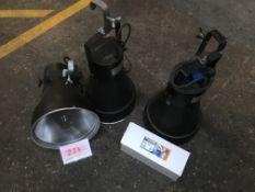 3x 400w UV Cannon + spare lamp