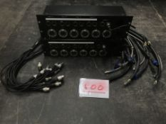 2x EP5 & XLR patch panels (3U)