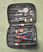 Electrician Small Tool Sets with Pouch Bag