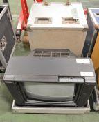 Ferguson TX Studio TV (AS SPARES) in Flight Case - L710 x D560mm