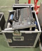 Studiomaster Club 2000 142 Mixing Desk with AKG SR800 Wireless Microphone System, AKG C590