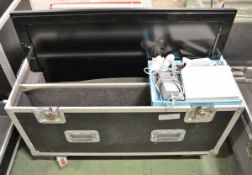 """Philips 37"""" TV with Nintendo Wii and Accessories in Flight Case - L1000 x D470mm"""