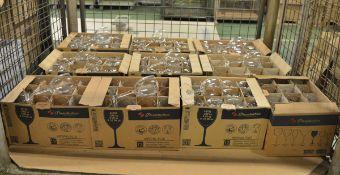 Pasabahce wine glasses - 12 per box - 10 boxes