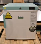 LEC PE109C Pharmacy Fridge 45Ltr - 470 x 480 x 530mm