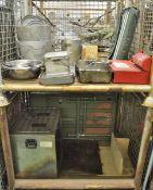 Field Kitchen set - cooker, oven, accessories