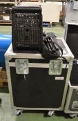 Lucas Nano 300 Compact PA System In Flight Case