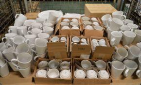 Crockery - plates, cups