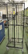 Tray Rack on Wheels - L910 x W590 x H1650mm